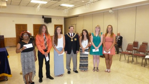 Elks 2014 Scholarship winners